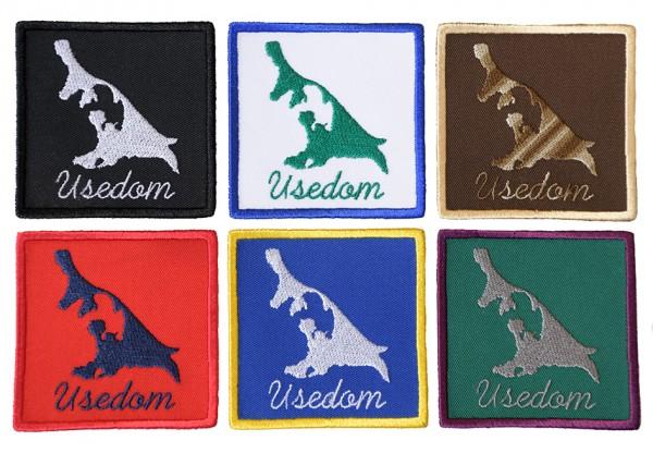 Aufnäher Usedom - 6 Farben zur Auswahl