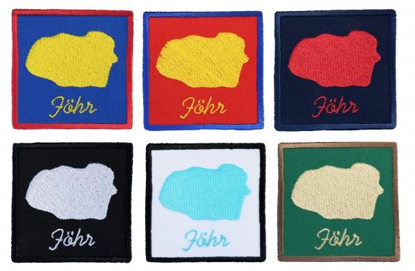 Aufnäher Föhr - 6 Farben zur Auswahl