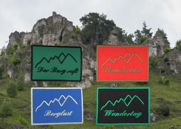 """Aufnäher """"Berge"""" - 4 Motive zur Auswahl"""