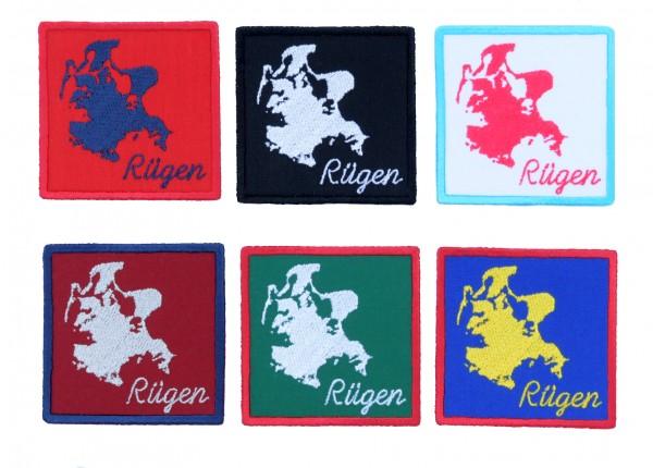 Aufnäher Rügen - 6 Farben zur Auswahl