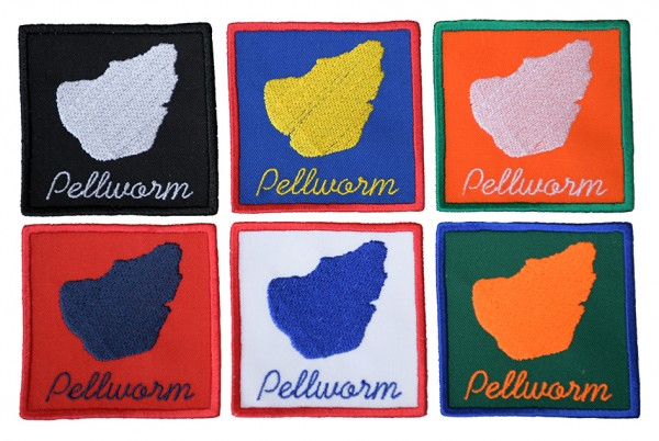 Aufnäher Pellworm - 6 Farben zur Auswahl