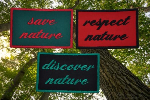 """Aufnäher """"Nature"""" - 3 Varianten zur Auswahl"""