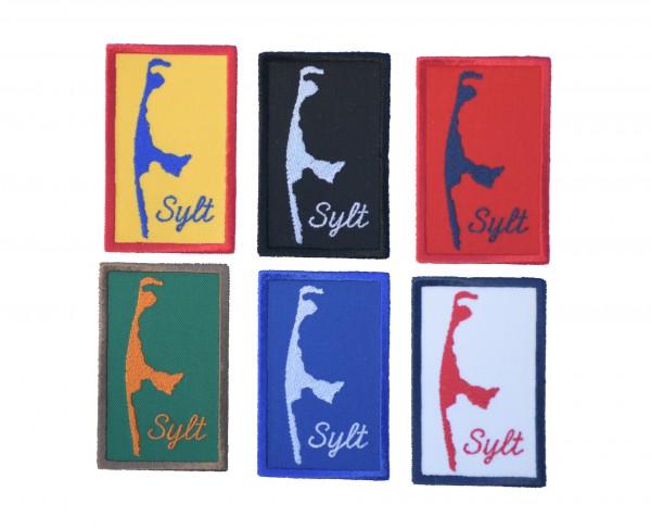 Aufnäher Sylt - 6 Farben zur Auswahl