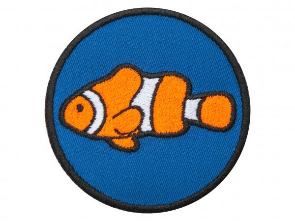 """Aufnäher """"Anemonenfisch"""" versch. Farben z. Auswahl"""