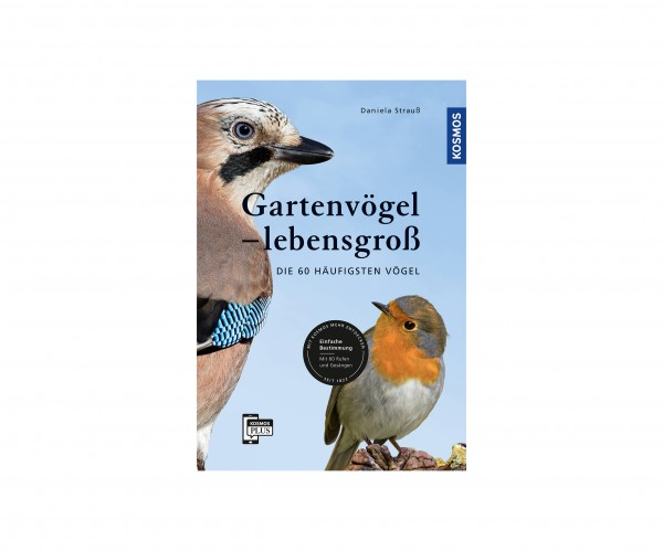 Gartenvögel lebensgroß - Die 60 häufigsten Vögel