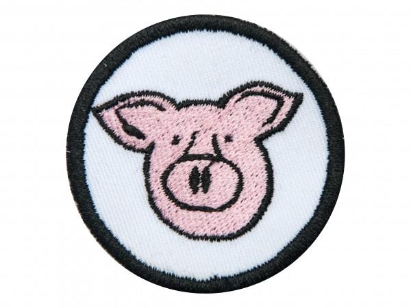 """Aufnäher """"Schwein"""" versch. Farben z. Auswahl"""