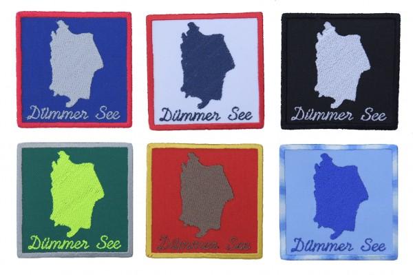 Aufnäher Dümmer See - 6 Farben zur Auswahl