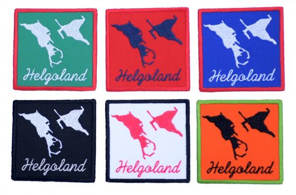 Aufnäher Helgoland - 6 Farben zur Auswahl