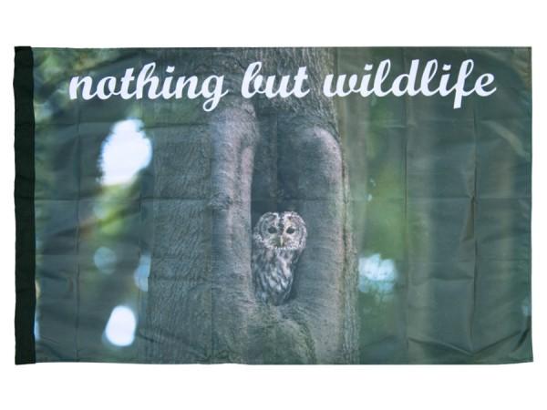 Fahne Waldkauz - nothing but wildlife